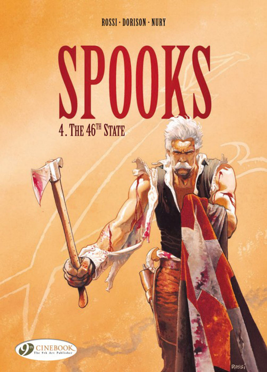 Spooks: The 46th State: Volume 4 Cinebook