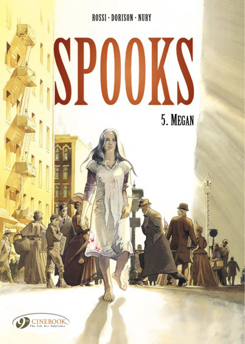 Spooks: Megan: Volume 5