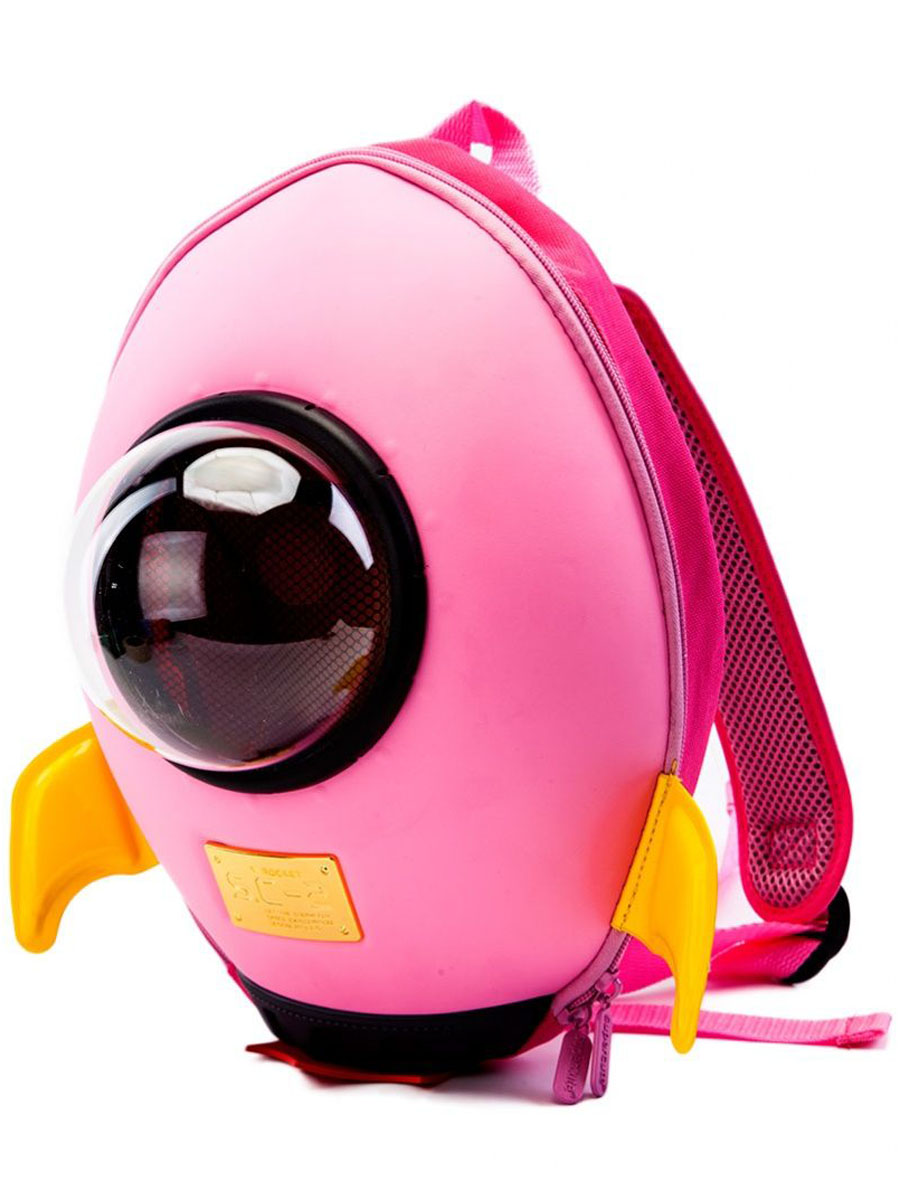 Bradex Рюкзак дошкольный Ракета цвет розовый