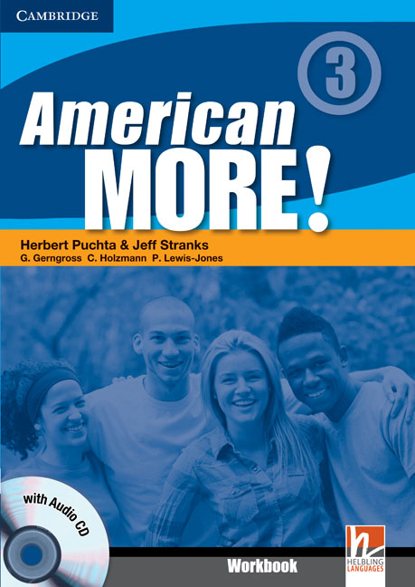 American More! Level 3: Workbook with (+ CD Audio) smart grammar and vocabulary 4 class cd