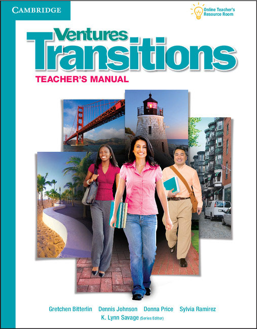 Ventures Transitions: Level 5: Teacher's Manual ventures 1 student s book with audio cd