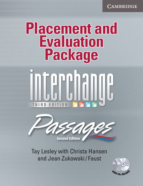 Placement and Evaluation Package Interchange Third Edition: Passages Second Edition (with Audio CDs) 2 pcs pair inside tail lamp rear light inner for ford mondeo fusion 2011 2012