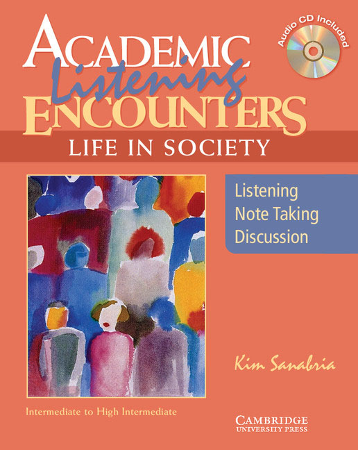 Academic Listening Encounters: Life in Society Student's Book (+ CD) academic listening encounters life in society student s book with audio cd