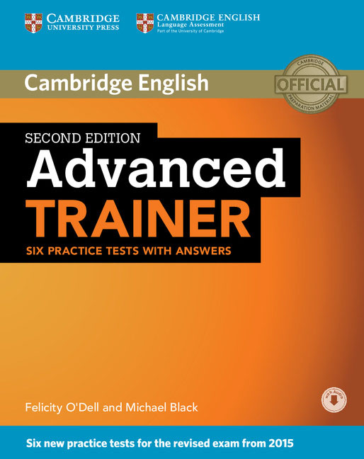 Advanced Trainer Six Practice Tests with Answers with Audio cambridge advanced learner s dictionary