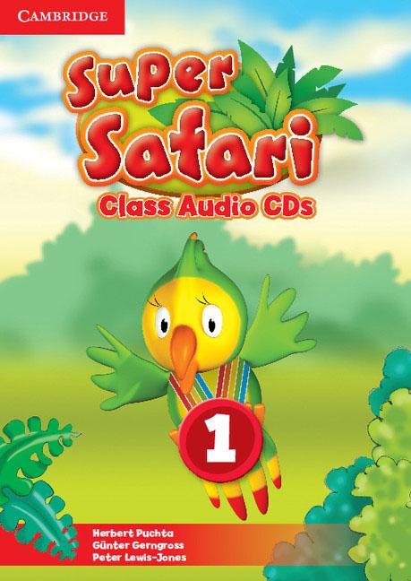 Super Safari Level 1 Class Audio CDs (2) big english 1 class audio