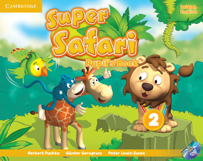 Super Safari: Level 2: Pupil's Book (+ DVD-ROM) english in mind level 2 students book dvd rom