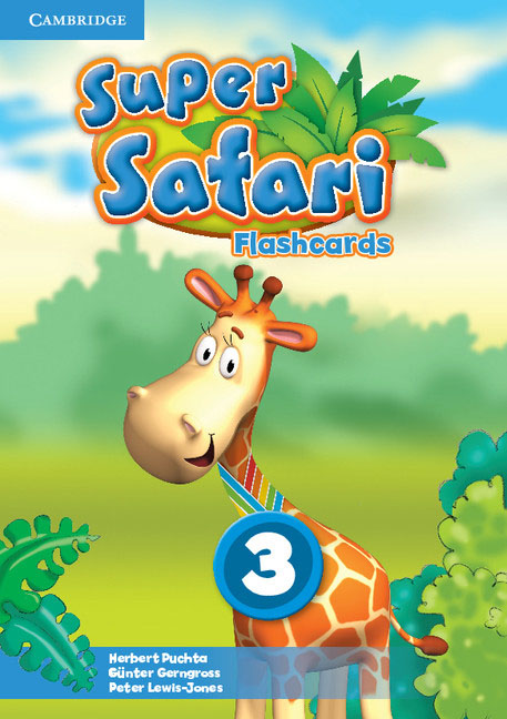 Super Safari Level 3 Flashcards (Pack of 78) giraffe and the pelly and me level 3