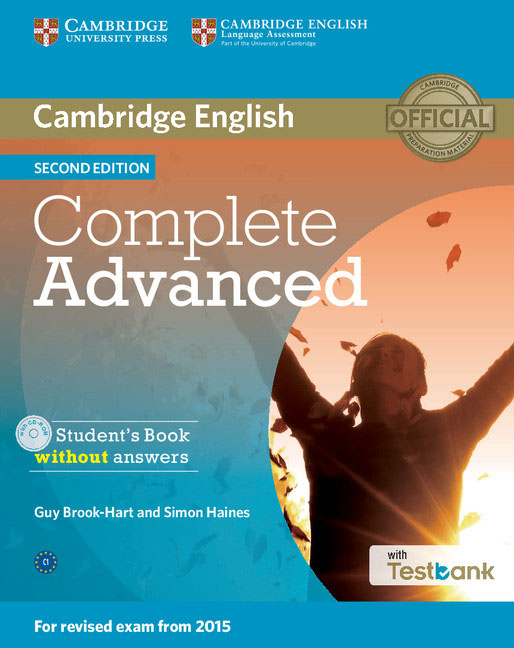 Cambridge English: Complete Advanced: Student's Book without Answers (+ CD-ROM) complete advanced student s book with answers with cd rom with testbank