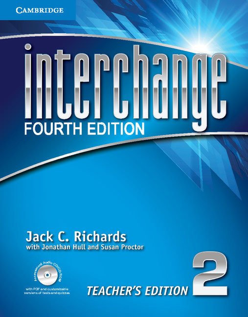 Interchange: Level 2: Teacher's Edition (+ CD-ROM) chiaro level b1 libro cd rom cd audio