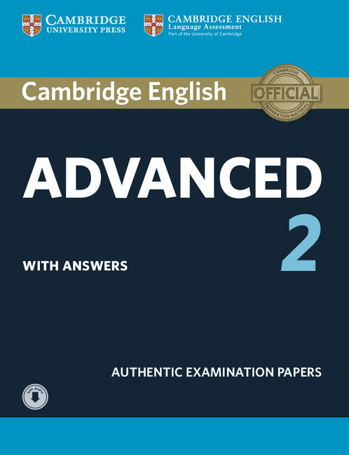 Cambridge English Advanced 2 Students Book with answers and Audio