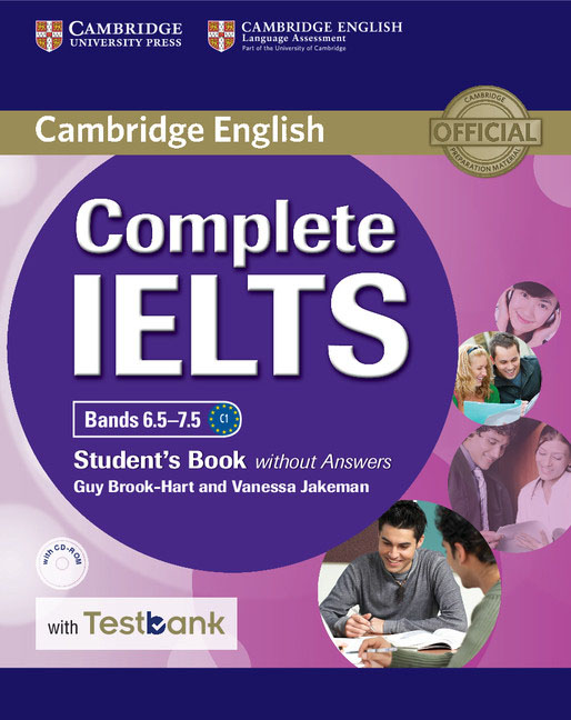 Complete IELTS: Bands 6.5–7.5: Student's Book without Answers with Testbank (+ CD-ROM) complete ielts bands 6 5 7 5 student s book with answers cd rom