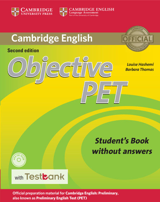 Objective PET Student's Book without Answers with CD-ROM with Testbank objective advanced student s book without answers cd