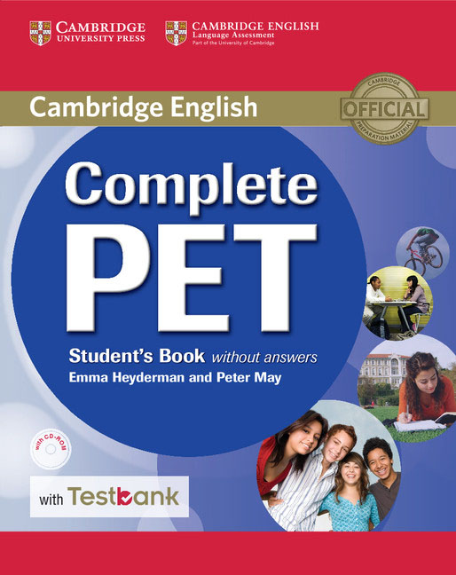Complete PET Student's Book without Answers with CD-ROM and Testbank