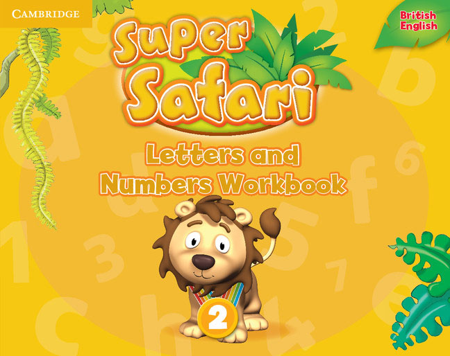 Super Safari Level 2: Letters and Numbers: Workbook насос дренажный grundfos unilift kp 150 a1 011h1800