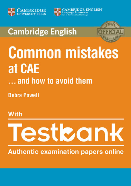 Common Mistakes at CAE ...and How to Avoid Them Paperback with Testbank roy norris ready for cae coursebook with key