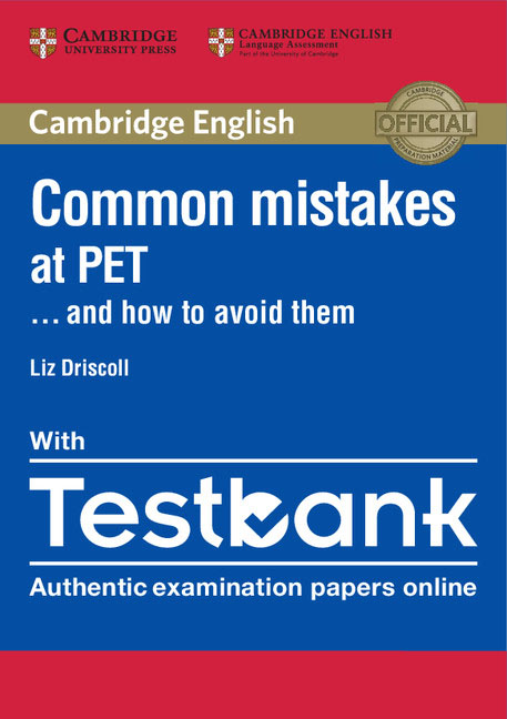 Common Mistakes at PET... and How to Avoid Them Paperback with Testbank cambridge preliminary english test 2 student s book