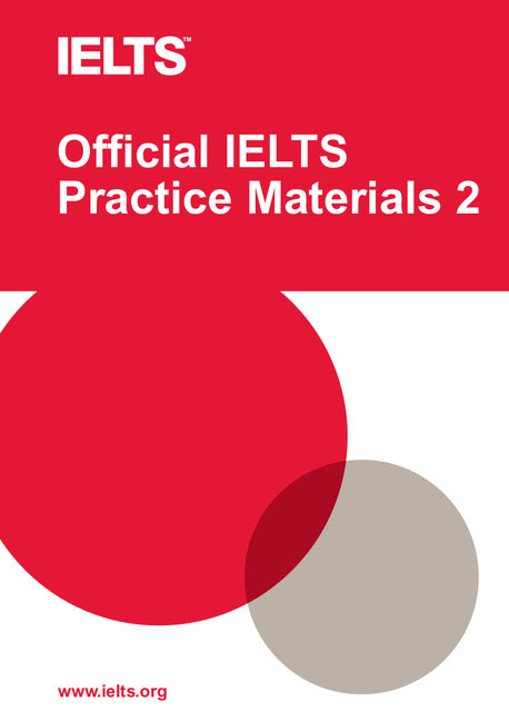 Official IELTS Practice Materials 2 with DVD listening