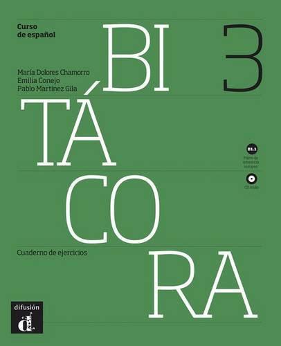 Bitacora 3: nivel В1.1: Cuaderno de ejercicios (+ CD) цена и фото