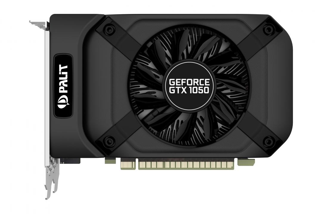 Видеокарта Palit GeForce GTX 1050 StormX 2GB, NE5105001841-1070F цена и фото