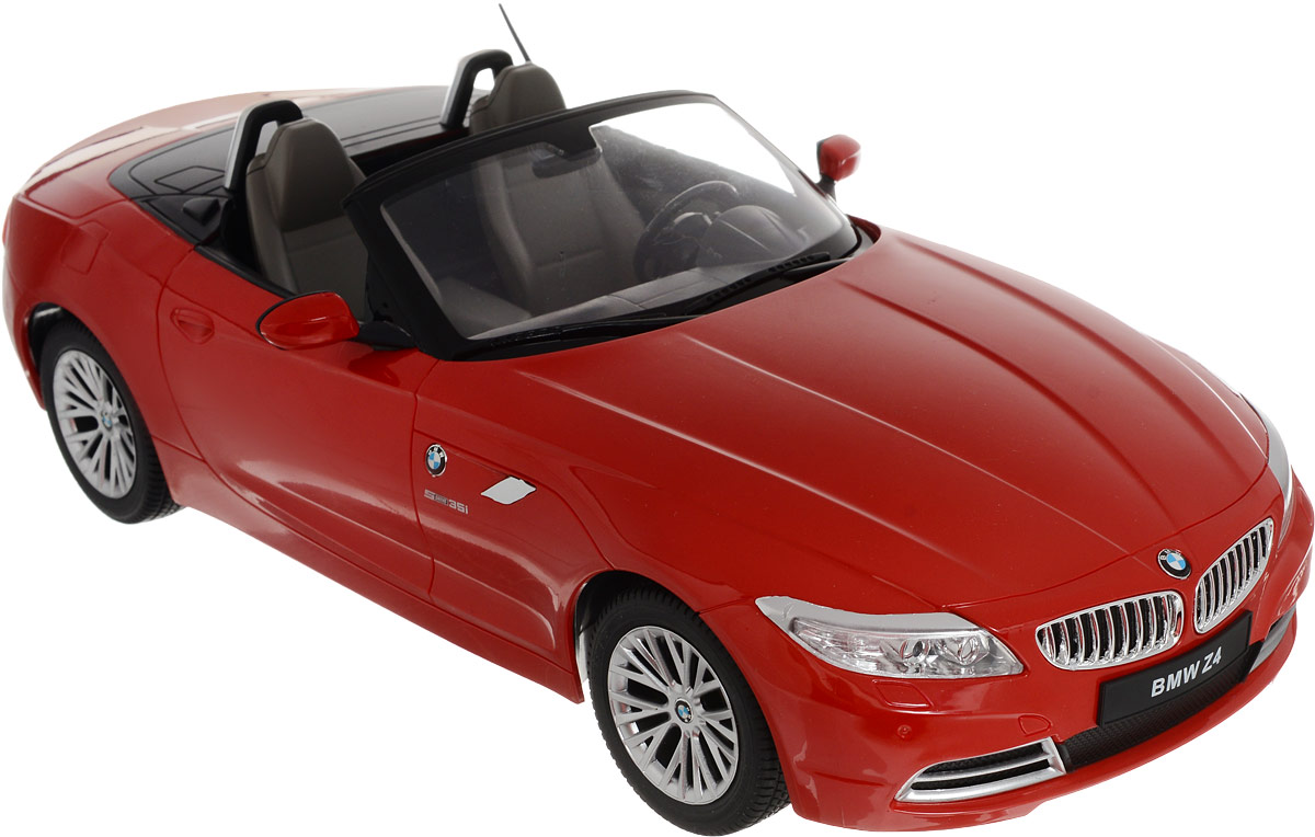 Радиоуправляемая модель Rastar BMW Z4, красный, 40300 цена