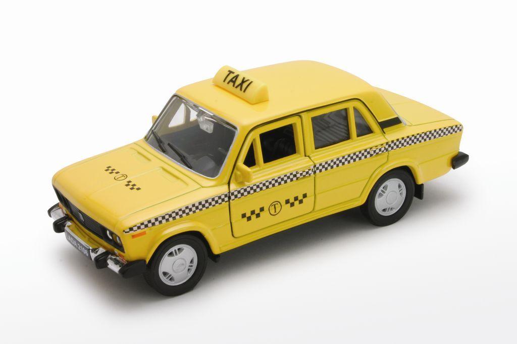 Welly Модель автомобиля LADA 2106 Такси на авто лада 2106 как промыть карбюратор не работают холостые обороты