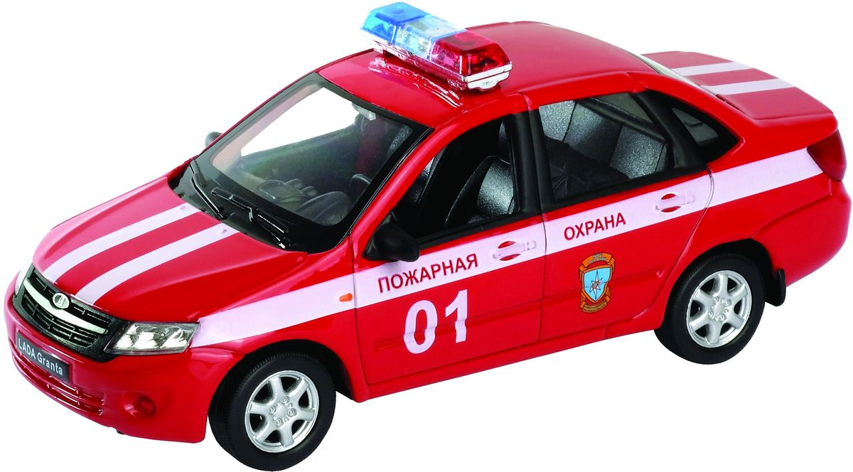 Welly Модель автомобиля LADA Granta Пожарная охрана