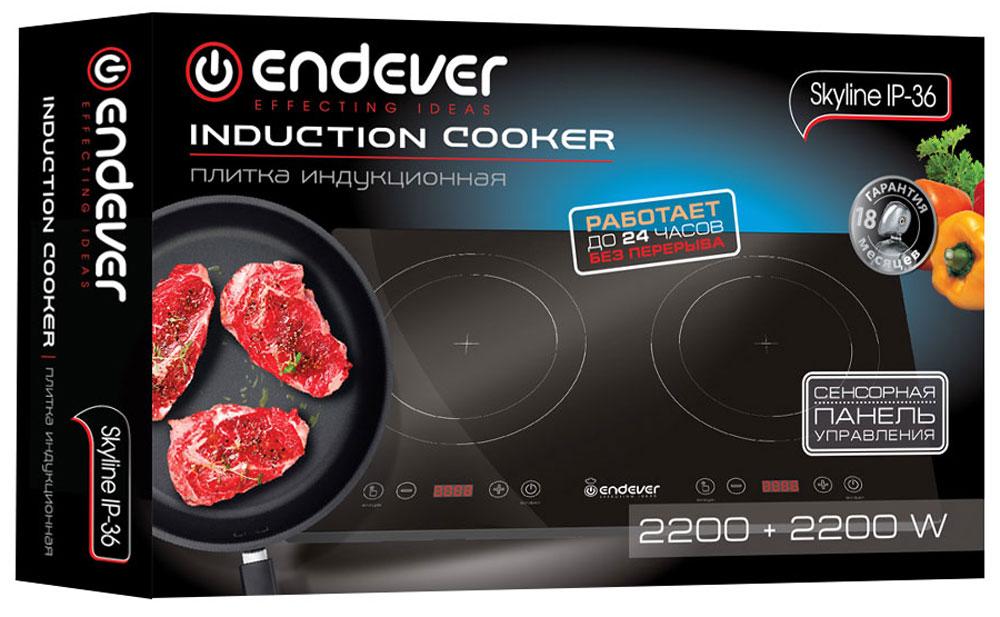 Настольная плита Endever IP-36 Endever