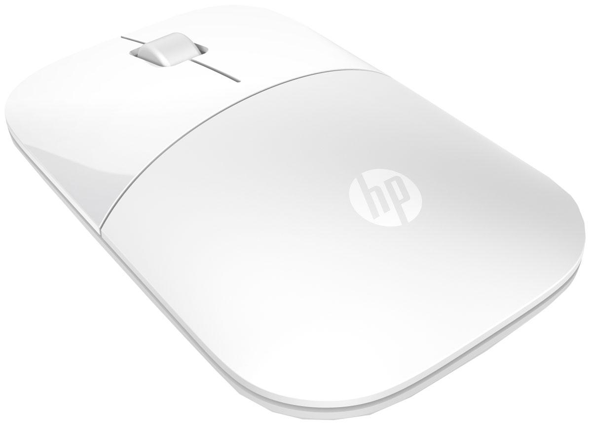 Мышь HP Z3700, White мышь hp z3700 wireless cardinal red cons v0l82aa