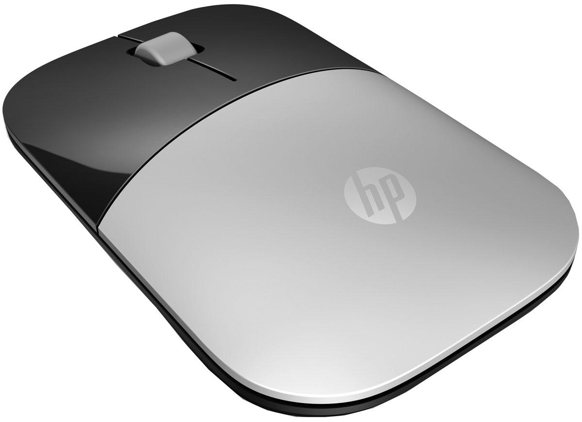 Мышь HP Z3700, Silver мышь hp z3700 wireless cardinal red cons v0l82aa