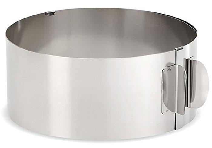 Форма для выпечки Мультидом, круглая, регулируемая, диаметр 16-30 см слайсер для торта арбуза и дыни мультидом an8 24