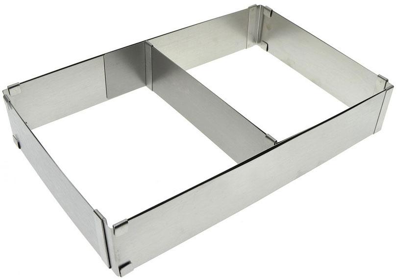 """Форма для выпечки """"Мультидом"""", прямоугольная, регулируемая, 18 х 28 х 5 см"""