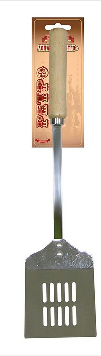Лопатка кулинарная Мультидом Ретро, с прорезями лопатка кулинарная мультидом софт an50 1