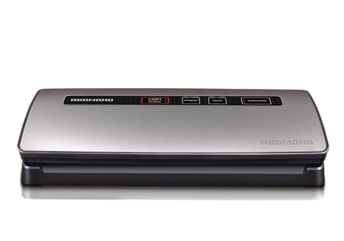 Вакуумный упаковщик Redmond RVS-M021, Gray вакуумный упаковщик redmond rvs m020 серебристый черный
