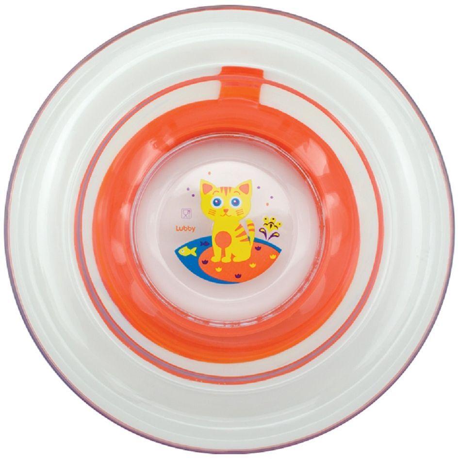 Lubby Тарелка с присоской Русские мотивы от 6 месяцев посуда сказка тарелка с крышкой на присоске