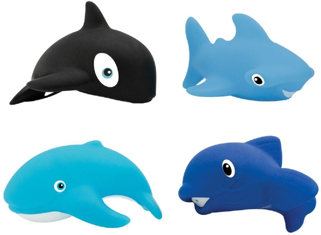 Lubby Набор игрушек для ванной Морской мир 4 шт