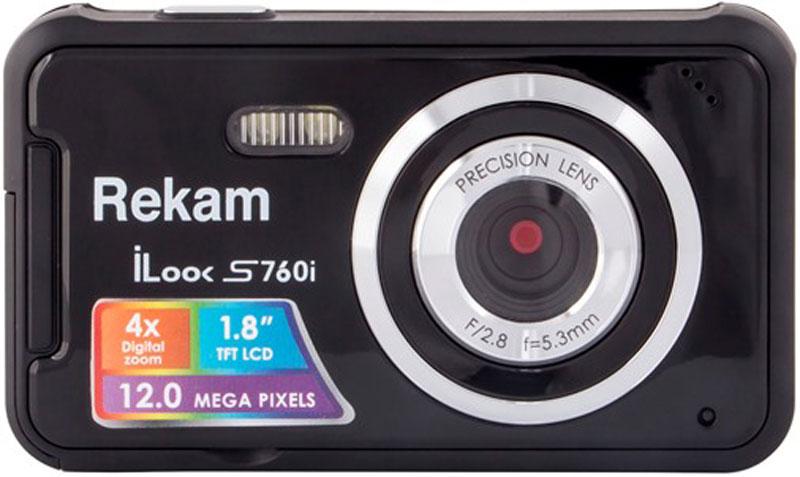 Компактный фотоаппарат Rekam iLook S760i, Black