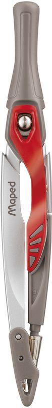 цена на Maped Готовальня Stop System 3 предмета цвет серый красный