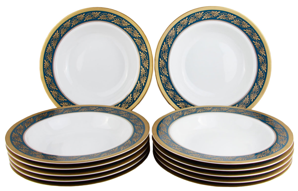 Комплект суповых тарелок