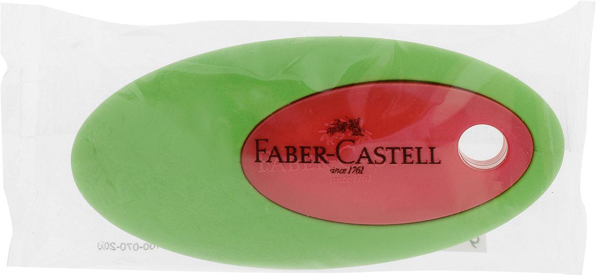Faber-Castell Ластик цвет зеленый красный все цены