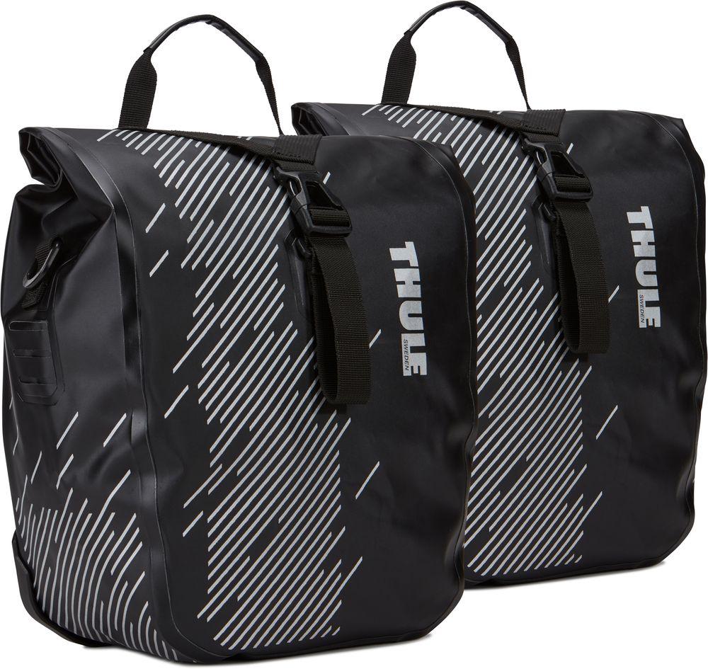 Набор велосипедных сумок Thule Shield Small, цвет: черный