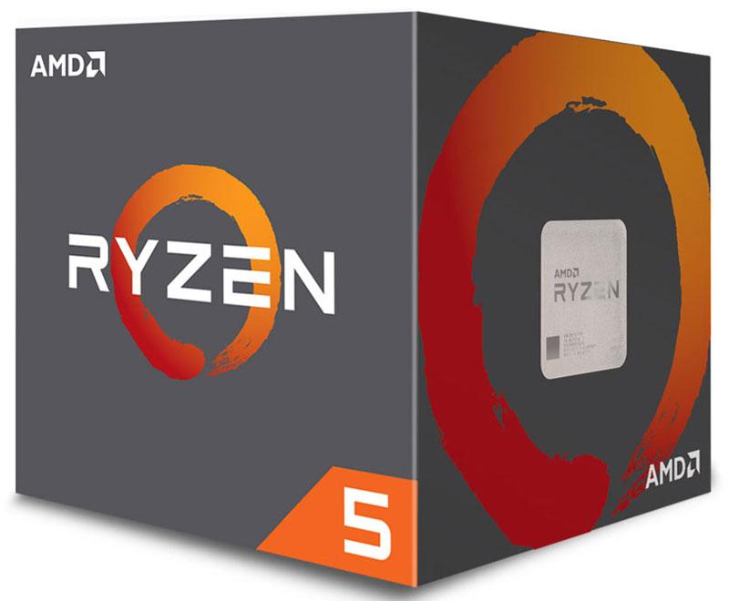 Процессор AMD Ryzen 5 1500X BOX, YD150XBBAEBOX amd a6 5400k trinity 2 ядра 3600мгц