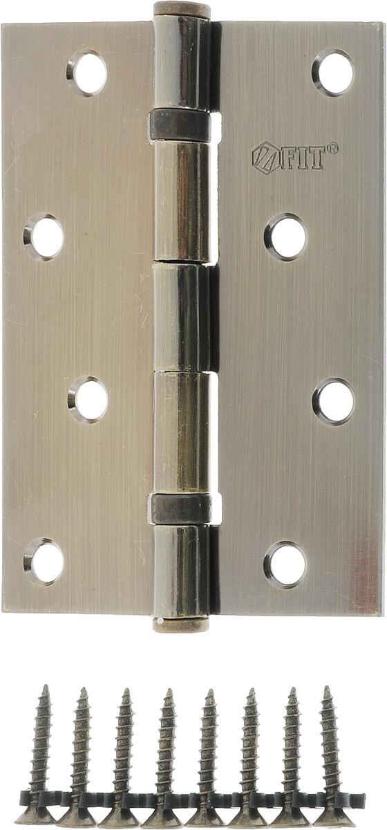 Петля дверная FIT, универсальная, 2 подшипника, цвет: античная бронза, длина 10 см петля универсальная 12 шт dosh i home петля универсальная 12 шт