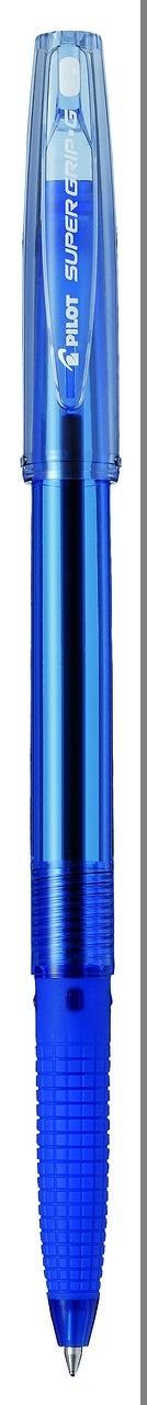 Pilot Ручка шариковая Super Grip G цвет синий вероятность того что новая шариковая ручка пишет плохо равна 0 26