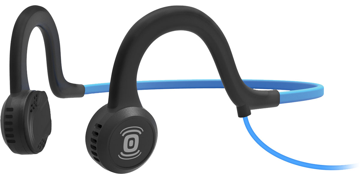 лучшая цена Aftershokz Sportz Titanium AS401, Blue наушники