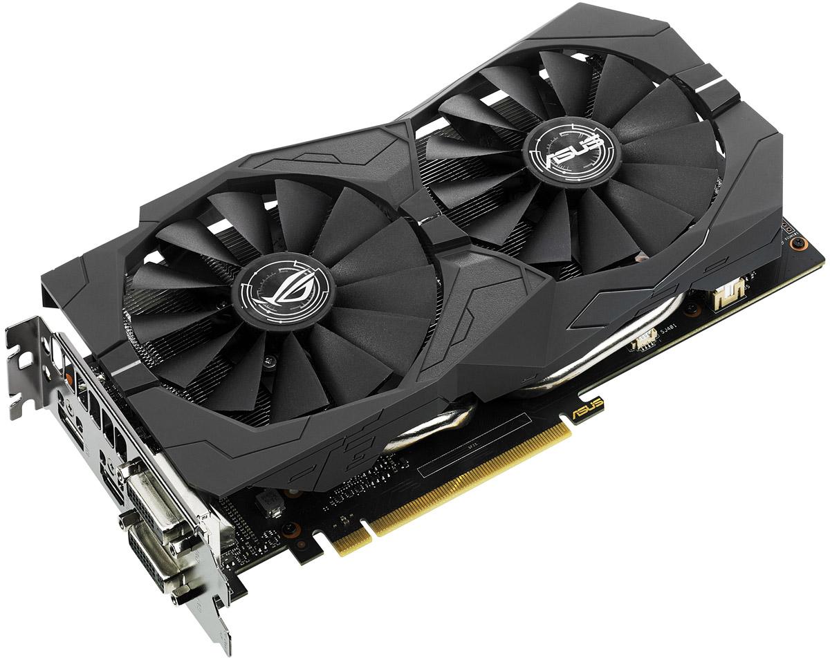 Видеокарта ASUS ROG Strix GeForce GTX 1050 2GB, STRIX-GTX1050-2G-GAMING