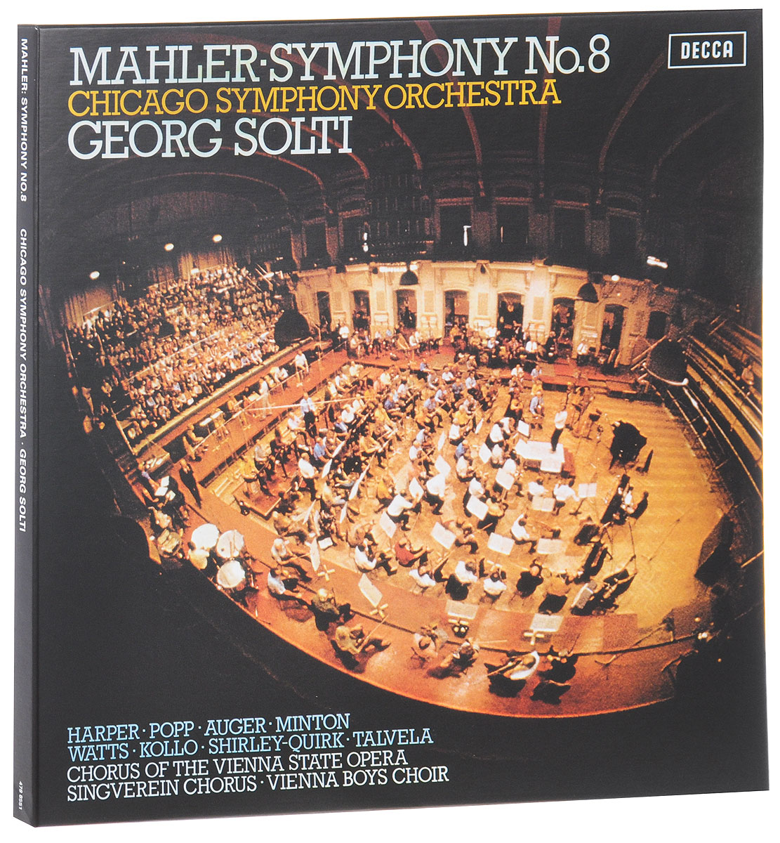 Георг Шолти,Chicago Symphony Orchestra Sir Georg Solti, Chicago Symphony Orchestra. Mahler. Symphony No. 8 (2 LP) георг шолти chicago symphony orchestra chicago symphony chorus sir georg solti chicago symphony orchestra beethoven the symphonies 7 cd