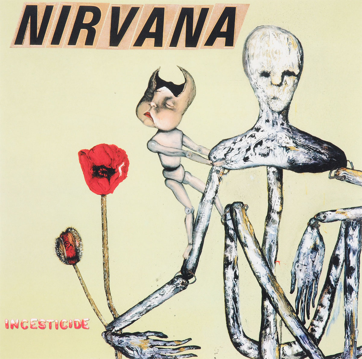 Nirvana Nirvana. Incesticide (2 LP) nirvana nirvana live at the paramount 2 lp
