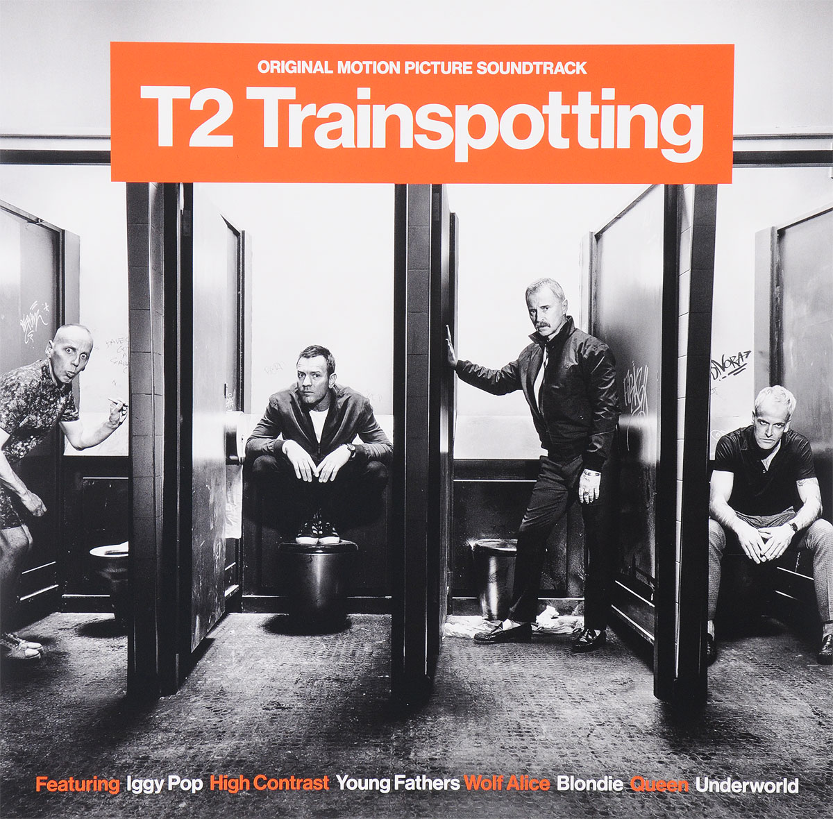 Фото - Игги Поп,High Contrast,Young Fathers,Frankie Goes To Hollywood,Юэн Бремнер,Underworld,Blondie,Queen,Run DMC,The Clash T2 Trainspotting. Original Motion Picture Soundtrack (2 LP) contrast lace keyhole back blouse