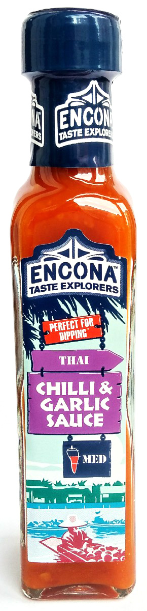 Encona Чили с чесноком соус, 142 мл соус чили pearl river bridge chili garlic sauce с чесноком 240 г