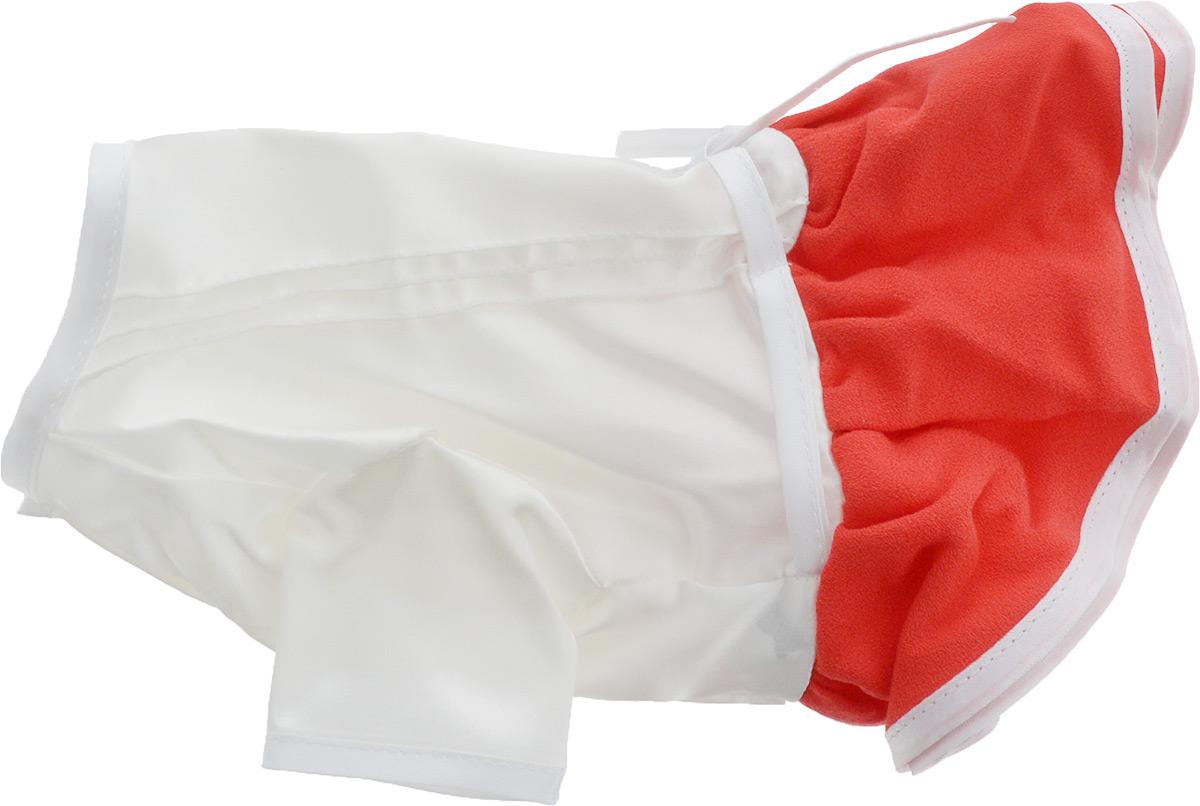 """Платье для собак Pret-a-Pet """"Летнее ассорти"""", цвет: красный. Размер S"""